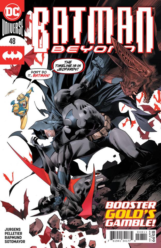 Batman Beyond #48 (Dan Mora Cover)