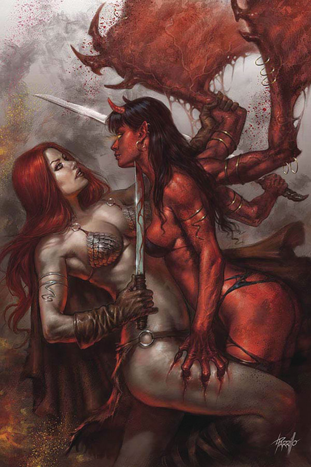 Red Sonja: Age of Chaos #1 (Parrillo Virgin Cover)