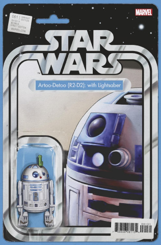 Star Wars #61 (Christopher Action Figure Cover)