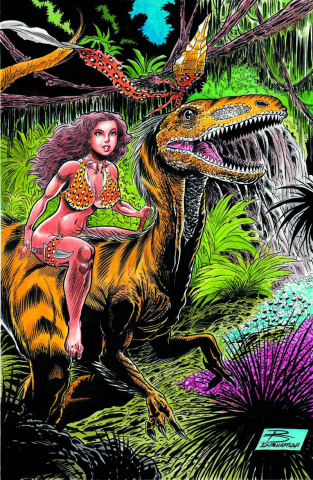 Cavewoman: The Return #2 (Durham Cover)
