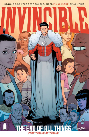 Invincible #144 (Ottley & Fairbairn Cover)