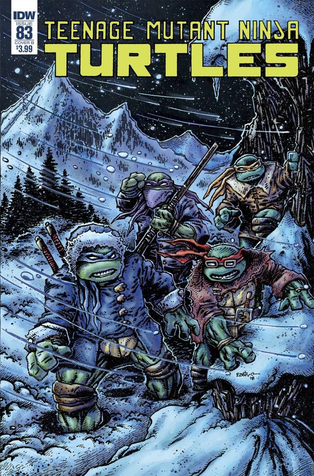 Teenage Mutant Ninja Turtles #83 (Eastman Cover)