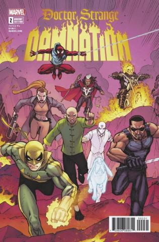 Doctor Strange: Damnation #2 (Lim Cover)