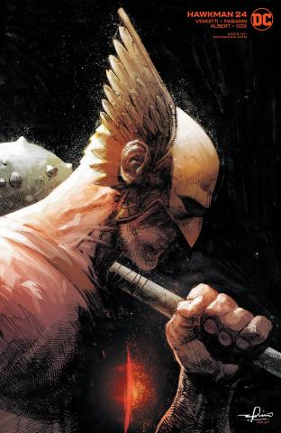 Hawkman #24 (Gerardo Zaffino Cover)