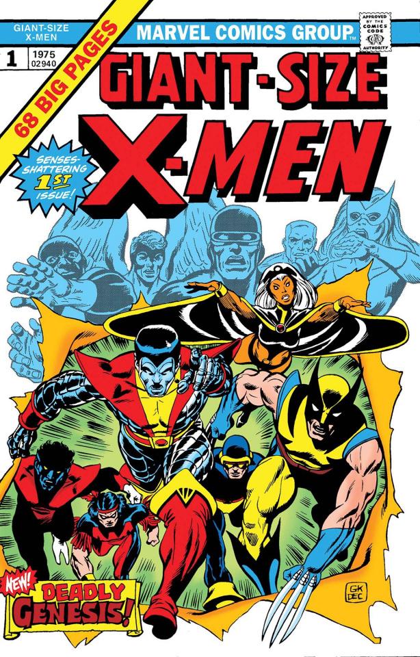 Giant-Size X-Men #1 (Facsimile Edition)
