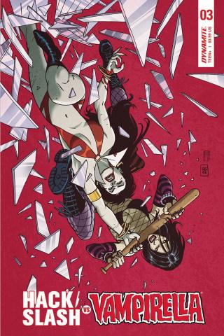 Hack/Slash vs. Vampirella #3 (Sudzuka Cover)