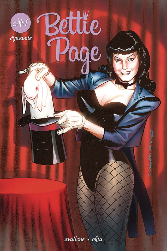 Bettie Page #1 (Williams Cover)