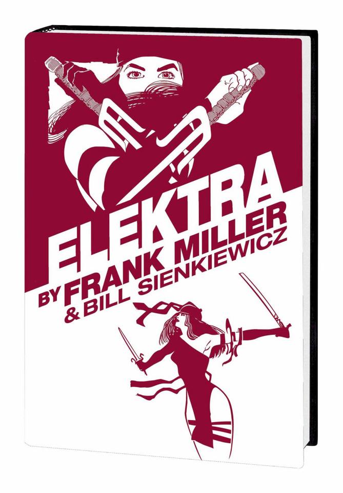 Elektra by Frank Miller & Bill Sienkiewicz