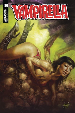 Vampirella #9 (Parrillo Cover)