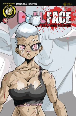 Dollface #15 (Mendoza Tattered & Torn Cover)