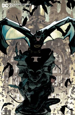 Detective Comics #1027 (Adam Hughes Batman Catwoman Cover)