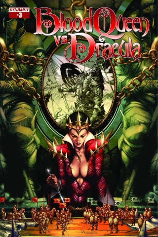 Blood Queen vs. Dracula #3 (Anacleto Cover)