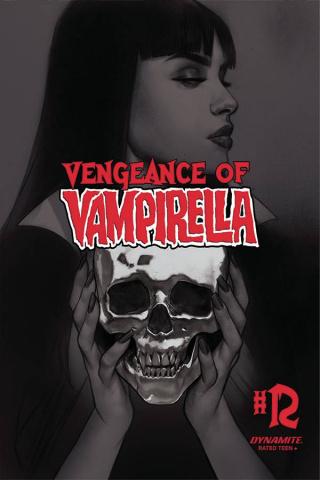 Vengeance of Vampirella #12 (30 Copy Oliver B&W Cover)