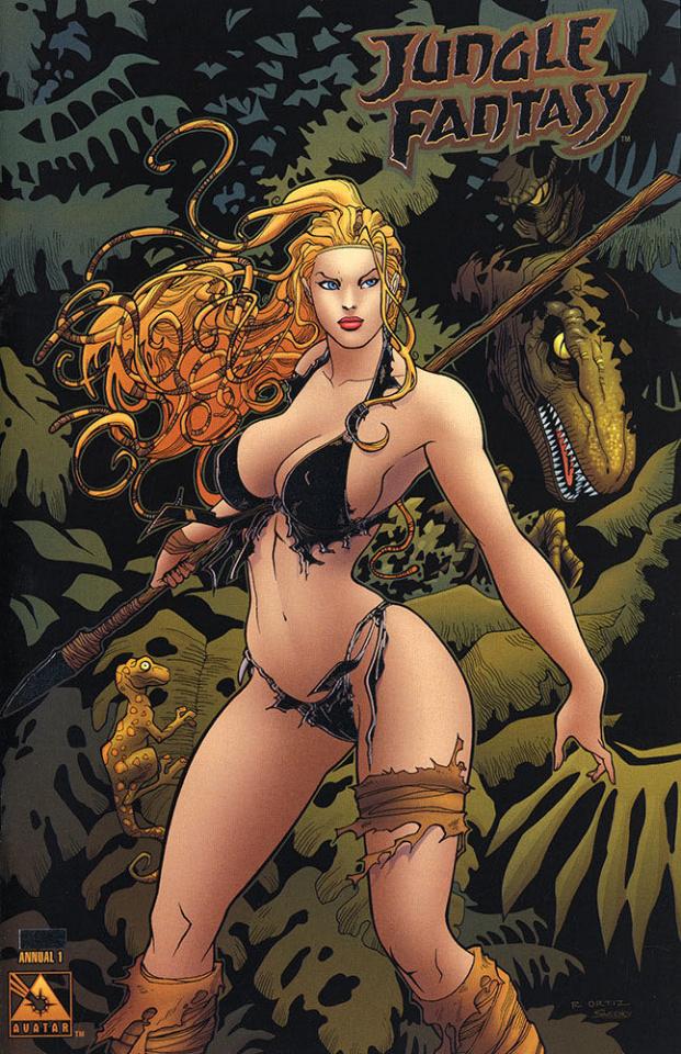 Jungle Fantasy Annual #1 (Platinum Foil Cover)