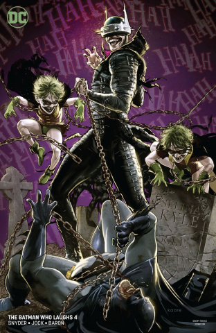 The Batman Who Laughs #4 (Variant Cover)