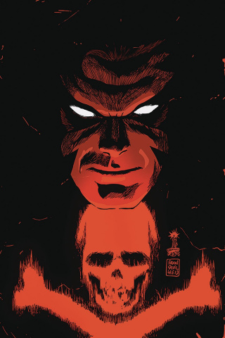 Black Terror #1 (Francavilla Virgin Cover)