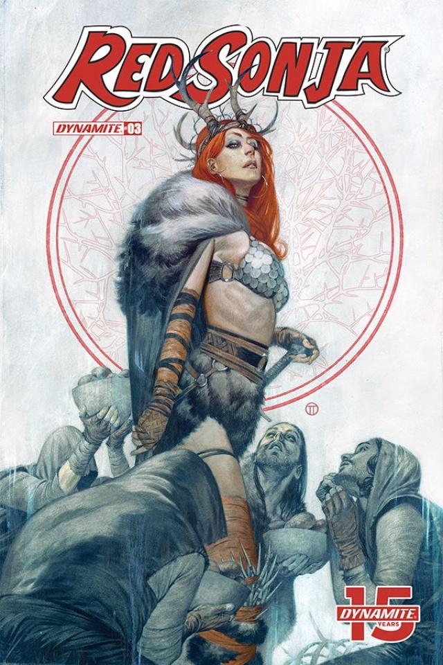 Red Sonja #3 (Tedesco Cover)