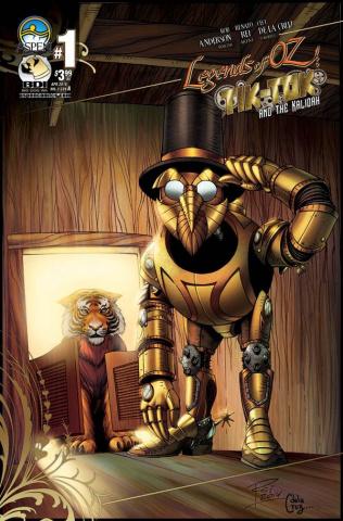 The Legends of Oz: Tik Tok and the Kalidah #1