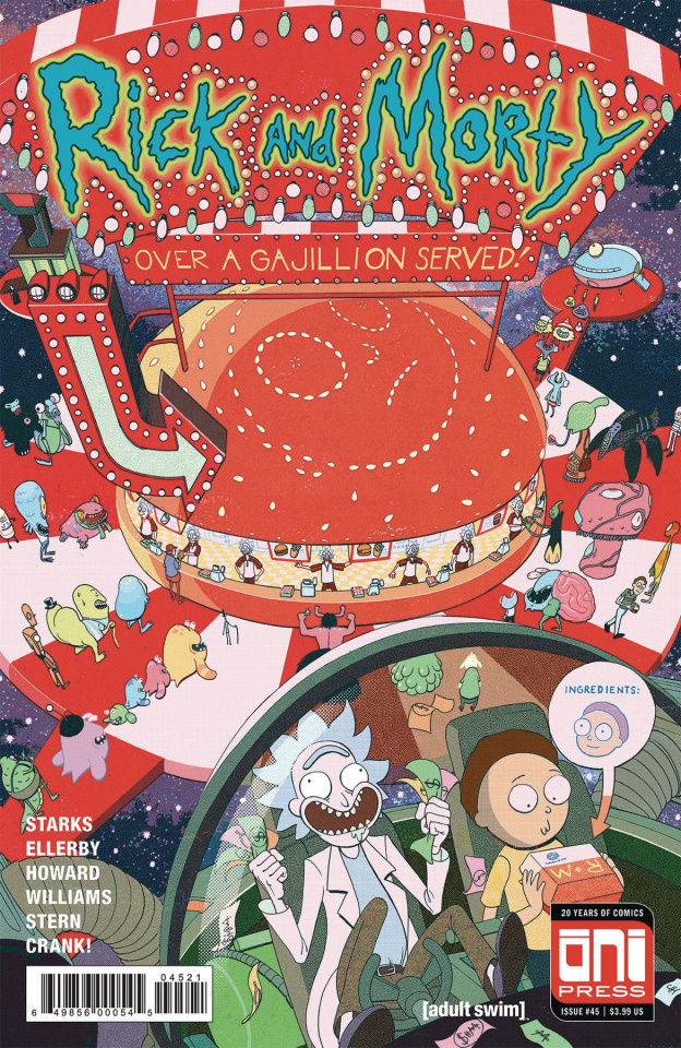 Rick and Morty #45 (Harvey Cover)