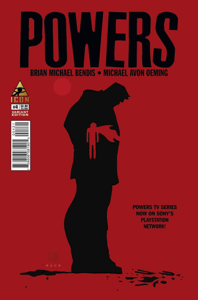 Powers #4 (Mack Cover)