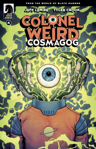 Colonel Weird: Cosmagog #4 (Ward Cover)