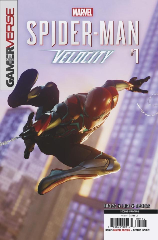 Spider-Man: Velocity #1 (2nd Printing)