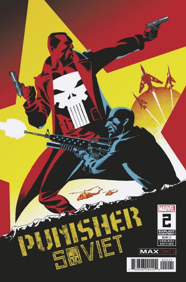 Punisher: Soviet #2 (Martin Cover)
