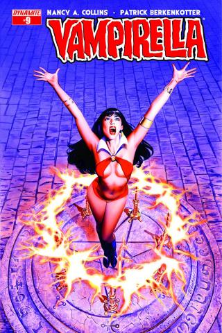 Vampirella #9 (Mayhew Cover)