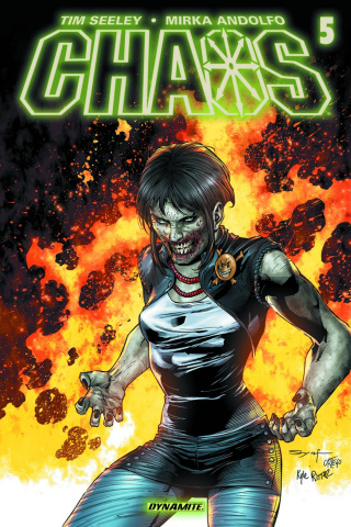 Chaos #5 (Syaf Subscription Cover)