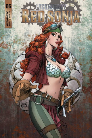 Legenderry: Red Sonja #5 (Benitez Cover)