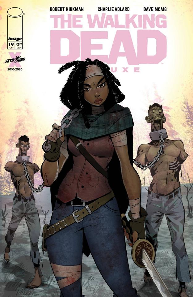 The Walking Dead Deluxe #19 (Milton Cover)