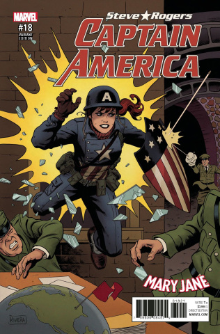 Captain America: Steve Rogers #18 (Rivera Mary Jane Cover)