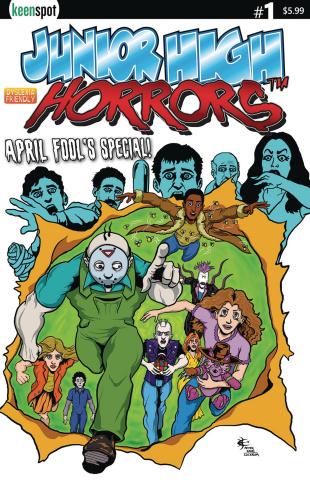Junior High Horrors April Fools Special #1 (X-Men Cover)