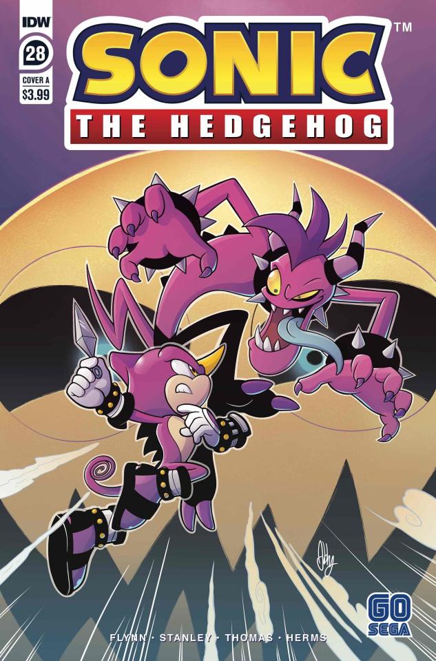 Sonic the Hedgehog #28 (Bulmer Cover)