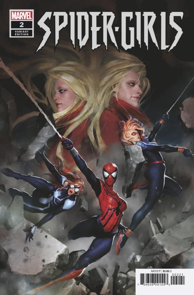 Spider-Girls #2 (Gang-Hyuk Lim Cover)