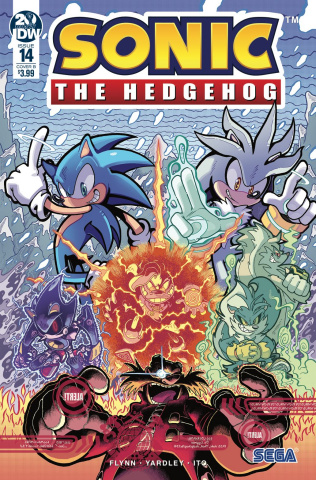 Sonic the Hedgehog #14 (Gray Cover)