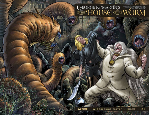 In the House of the Worm #2 (Wrap Cover)