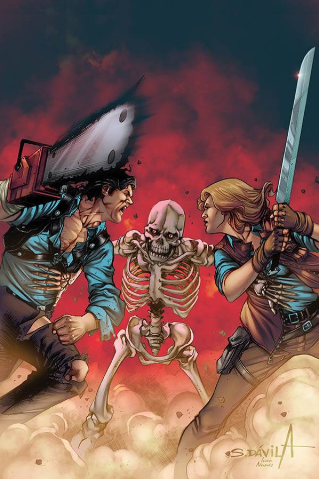 Death to the Army of Darkness #4 (Davila Virgin Cover)