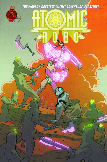 Atomic Robo: The Savage Sword of Dr. Dinosaur #4