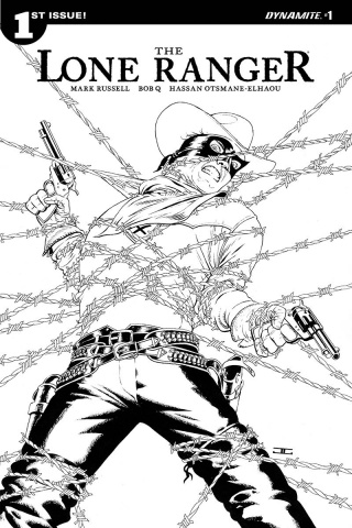 The Lone Ranger #1 (10 Copy Cassaday B&W Cover)