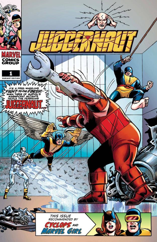 Juggernaut #1 (Roth Hidden Gem Cover)