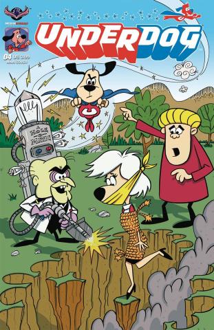 Underdog #4 (Gallant Cover)