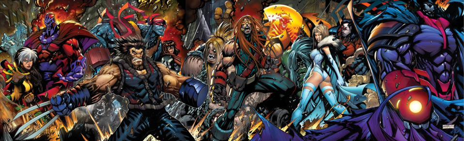 Age of Apocalypse #1 (Sandoval Gatefold Poster Cover)