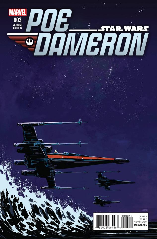 Star Wars: Poe Dameron #3 (Walsh Cover)