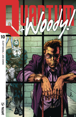 Quantum & Woody #10 (Ultra Foil Shaw Cover)