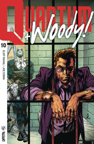 Quantum & Woody #10 (Ultra Foil Shaw Cover)