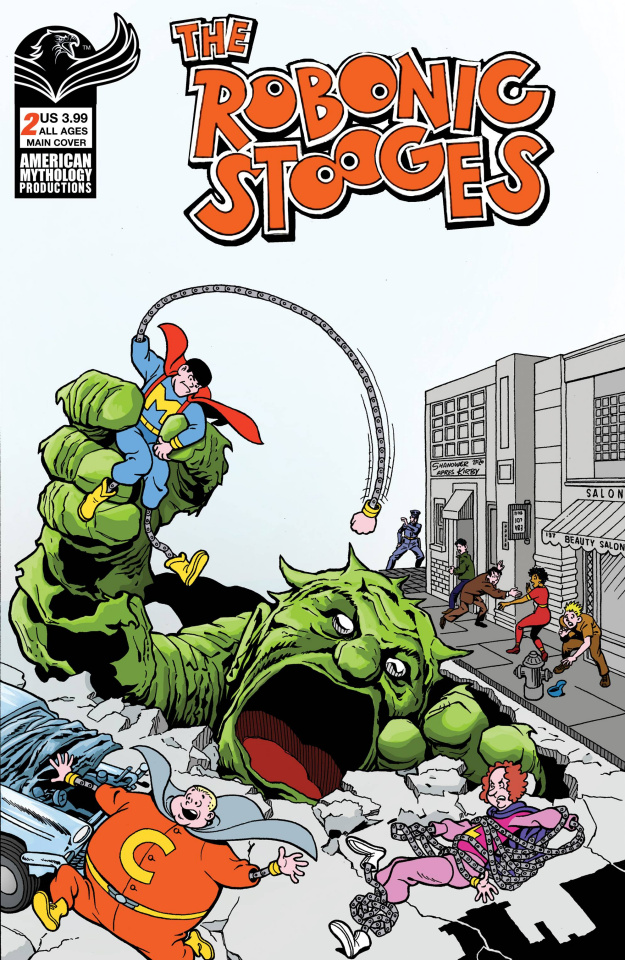 The Robonic Stooges: Fantastic Fools #2 (Shanower Cover)