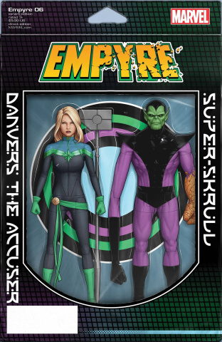 Empyre #6 (Christopher Action Figure Cover)