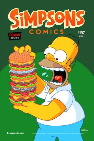 Simpsons Comics #197
