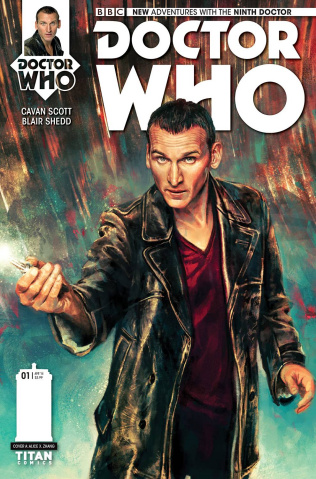 Doctor Who: New Adventures with the Ninth Doctor #1 (Zhang Cover)